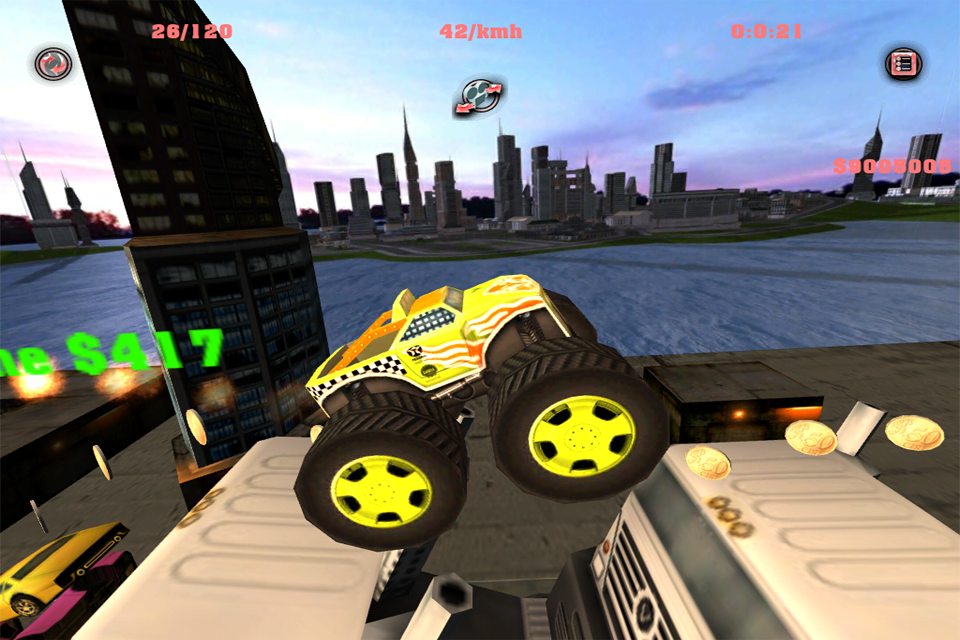 Monster Truck IOS Free Game