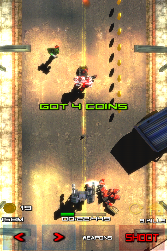 HeroBot IOS Shooting Game