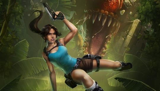 Lara Croft IOS Mobile Game