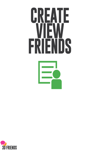 3D Friends IOS App
